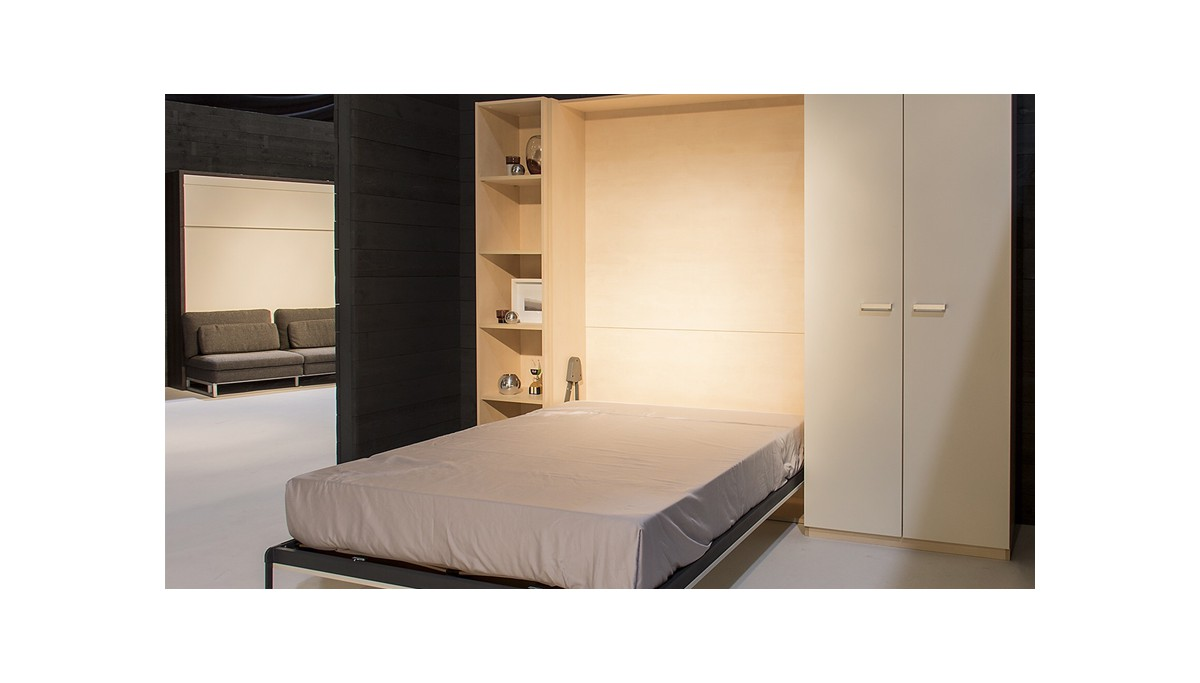 boone lit escamotable base selecta vertical. Black Bedroom Furniture Sets. Home Design Ideas