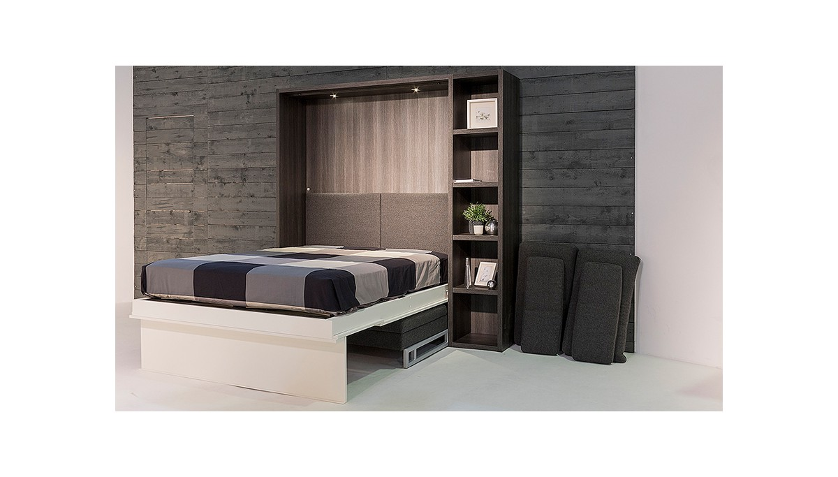 boone lit escamotable loft ventura avec canap. Black Bedroom Furniture Sets. Home Design Ideas