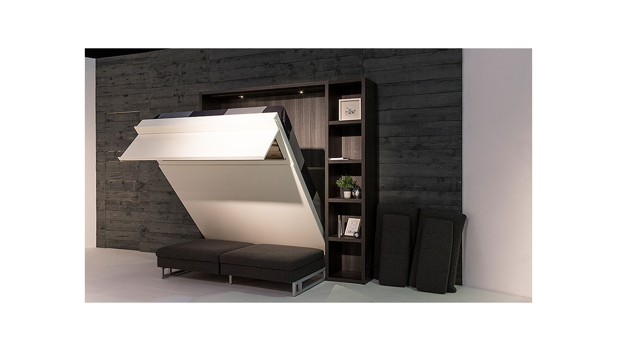 boone opklapbed loft ventura met zetel kastbed ruimtebesparend. Black Bedroom Furniture Sets. Home Design Ideas