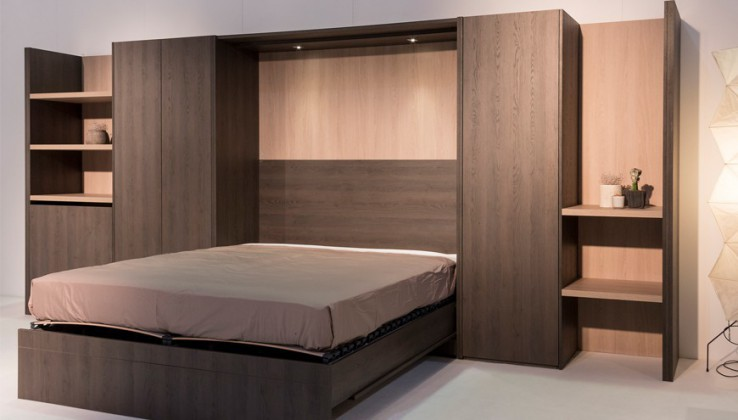lits rabattables interesting meuble lit rabattable ou personnes base with lits rabattables. Black Bedroom Furniture Sets. Home Design Ideas