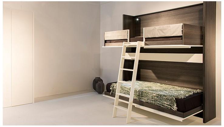 bureau opklapbed boone. Black Bedroom Furniture Sets. Home Design Ideas