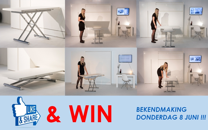 Facebook-actie: Like Share and Win!